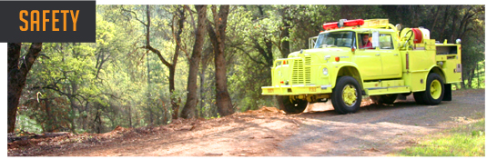 PurFire has its own 500-gallon fire truck and excavator at each burn.